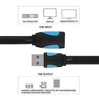 Vysokorychlostní prodlužovací kabel USB 3.0 Muž na ženu Extension Data Sync Cord
