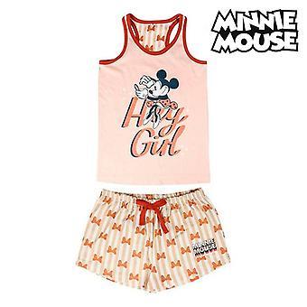 Летняя пижама Минни Маус Розовый