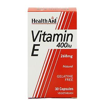 HealthAid E-vitamiini 400iu Luonnollinen Vegicaps 30 (801240)