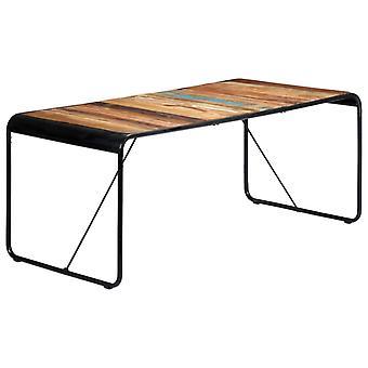 vidaXL ruokapöytä 180x90x76 cm kiinteä jätepuu