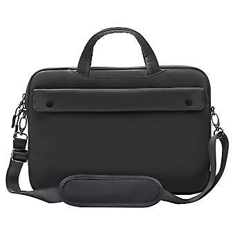 Baseus - Laptop bag 16 tommer Mørk grå - 6 rom - 370 x 260 x 20 mm - 342 gram - Skulderrem