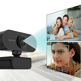 Full HD 1080p Web Cam Auto Focus Mini Web Kamera Med Mic Usb Kameraer