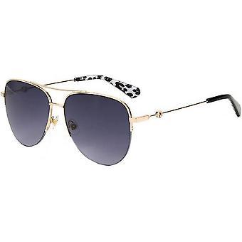 Kate Spade Maisie Óculos de Sol - Preto/Ouro