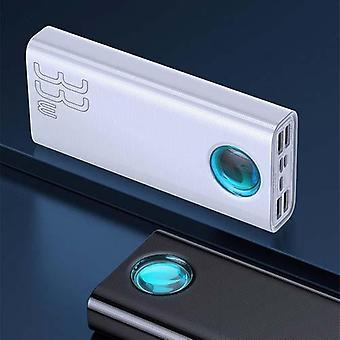 Tablet Power Bank, 30000Mah Usb C Pd Pikalaturi Kannettava ulkoinen akku