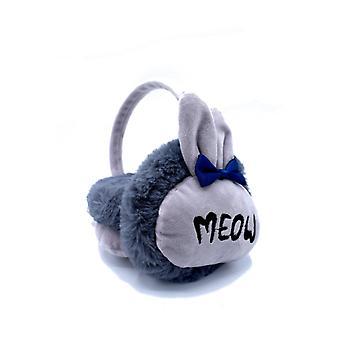 Meow gråa öronmuffar