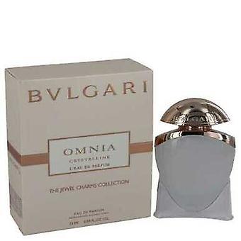 Omnia Krystallinsk L'eau De Parfum Av Bvlgari Mini Edp Spray .84 Oz (kvinner)
