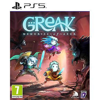 Greak Memories of Azur PS5 Game