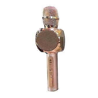 Langaton Bluetooth-mikrofoni kädessä pidettävä(vaaleanpunainen)