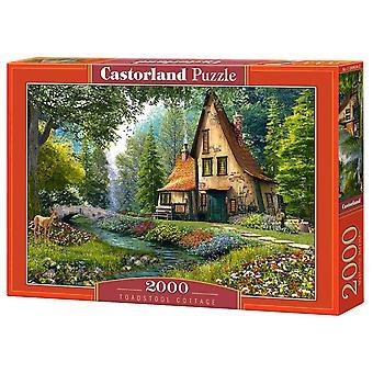 Castorland, Puzzle - Cottage - 2000 Pieces