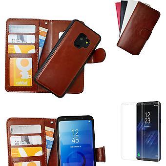 Samsung Galaxy S9-cuir cas magnétique/échelle