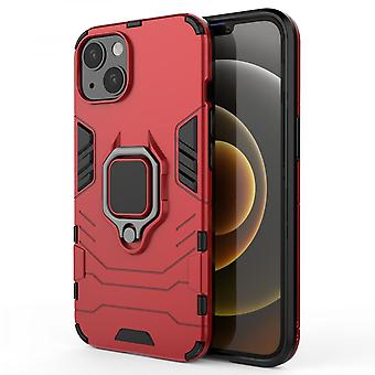Venalisa Suitable For Iphone13promax Car Ring Mobile Phone Shell Black Panther Ring Protective Shell