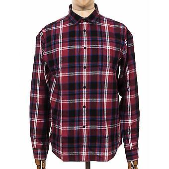 Edwin Jeans L/s Don Skjorta - Ruby Wine