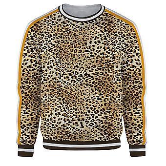 Homemiyn Miesten 3d Kulta Leopard Print Pullover Collegepaita Rento Tyyli Kuljetus Paita Toppi