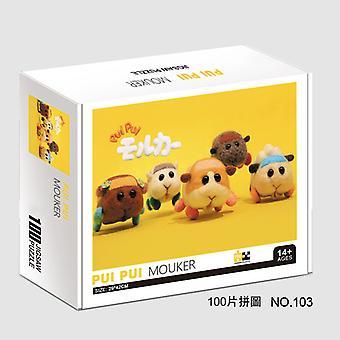Anime asamblate jucărie Puzzle White Card Gray Card de personalitate Cobai