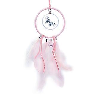blå sommerfugl kite art deco mote drøm catcher liten klokke soverom dekor