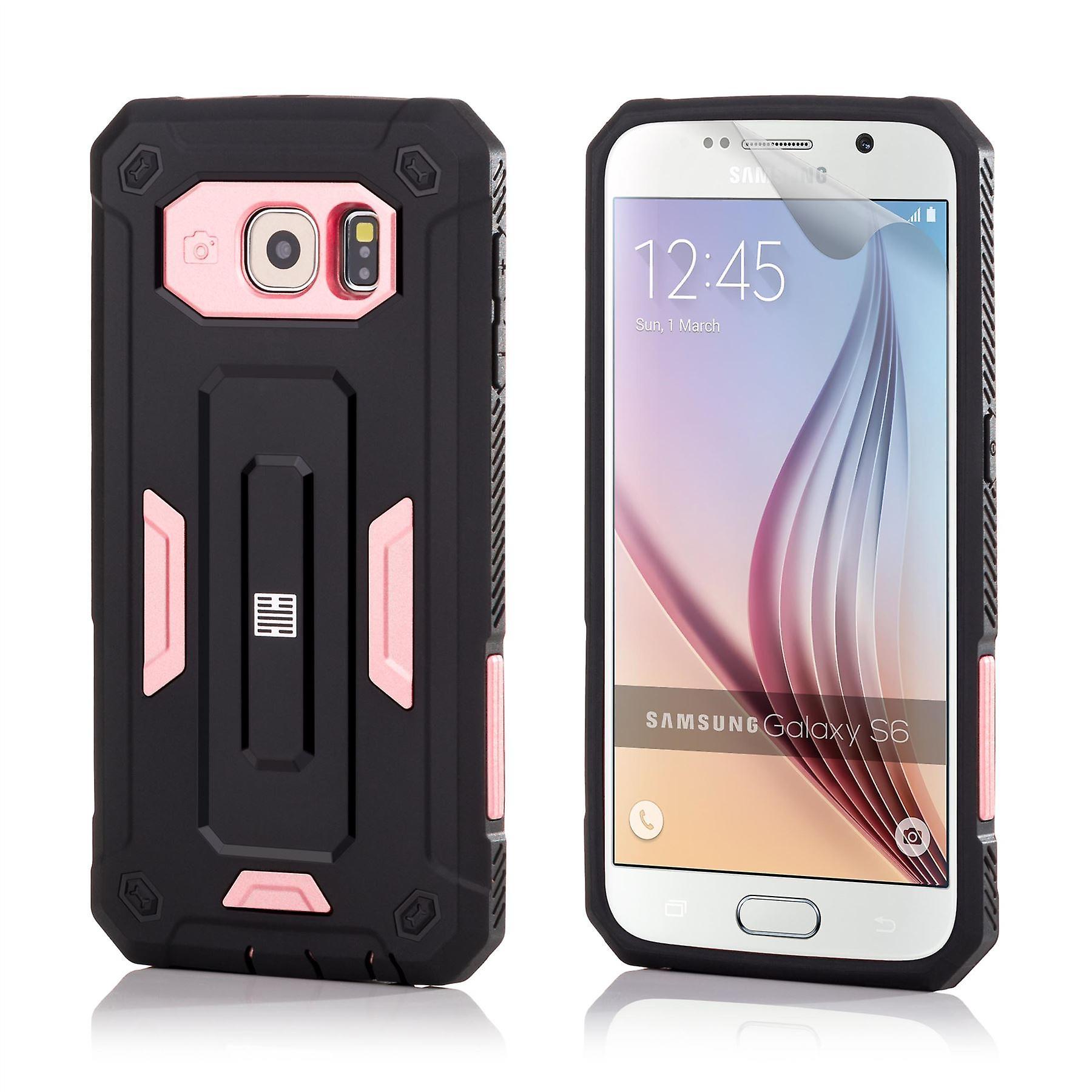 32nd Hard Defender case for Samsung Galaxy S6 (SM-G920) - Rose Gold