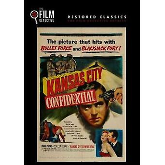 Kansas City Confidential [DVD] USA import