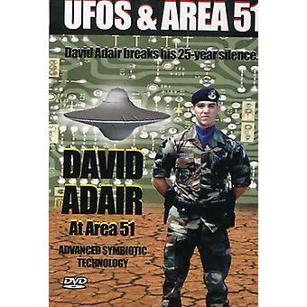 Vol. 3-David Adairin Area 51 [DVD] USA tuoda