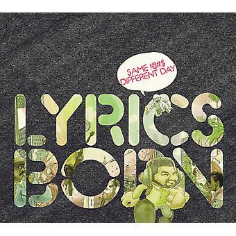 Lyrics Born - Same !--#-Different Day [CD] USA import