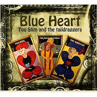 Too Slim & the Taildraggers - Blue Heart [CD] USA import