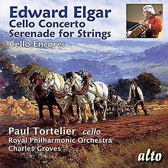 Ocres de la Philharmonique de TortelierConcal Paul - Elgar: Concerto pour violoncelle; Sérénade pour importation USA Stri [CD]