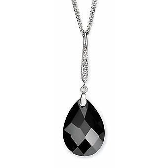 925 Silver Zirconium Pendant Necklace