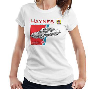 Haynes Owners Workshop Manual 0765 Saab 900 Turbo Women's T-Shirt