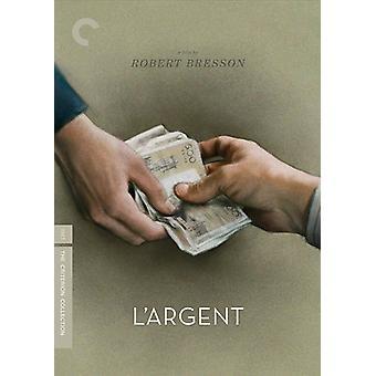 L'Argent [DVD] USA importere