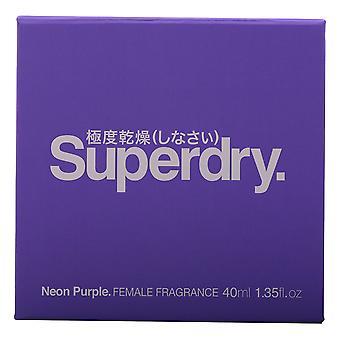 Superdry Neon Purple Eau De Toilette 40ml EDT Spray