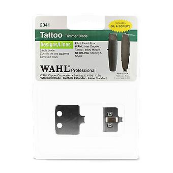 Wahl 2041 Designer/Lines Tattoo Trimmer Blade Set