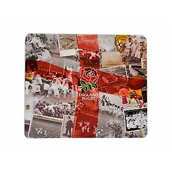 England RFU Official Rugby Retro Computer Mouse Mat