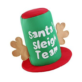Рождественский магазин Деды Морозы санях кепка
