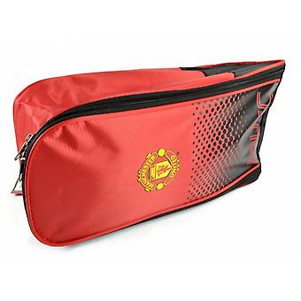 Manchester United FC Official Football Fade Design Bootbag