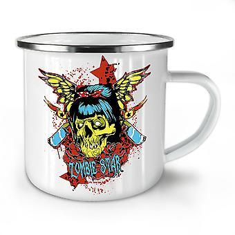 Star Butterfly Zombie NEW WhiteTea Coffee Enamel Mug10 oz | Wellcoda