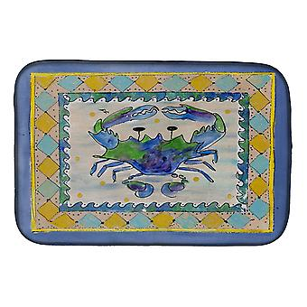 Carolines Treasures  8072DDM Crab Dish Drying Mat