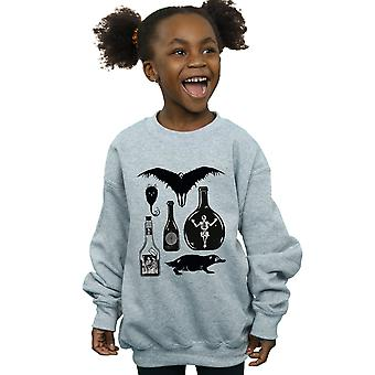 Fantastisk dyr jenter ren ikoner Sweatshirt
