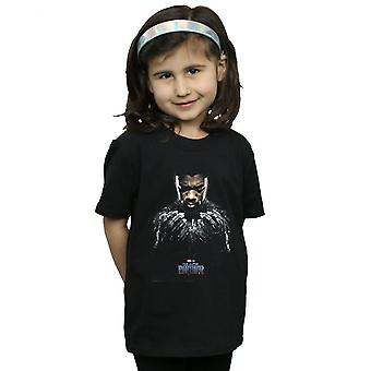 Marvel Girls Black Panther T'Challa Poster T-Shirt