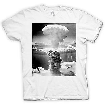 Детские футболки-Ядерный гриб и белый