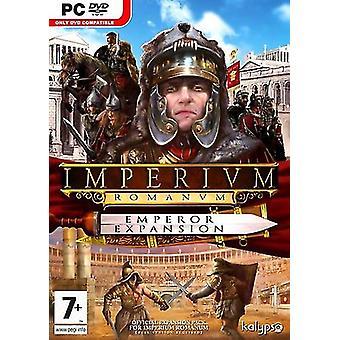 Imperium Romanum kejsare expansion (PC DVD)-ny