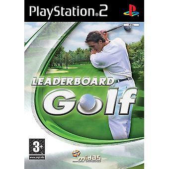 Leaderboard Golf (PS2)-fabriken förseglad