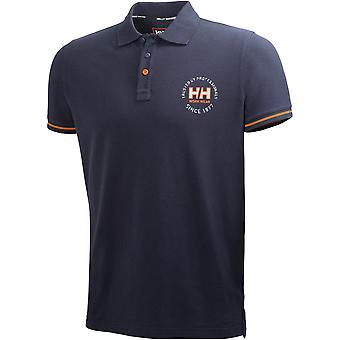 Helly Hansen Mens Oslo Contrast Short Sleeve Casual Work Polo Shirt