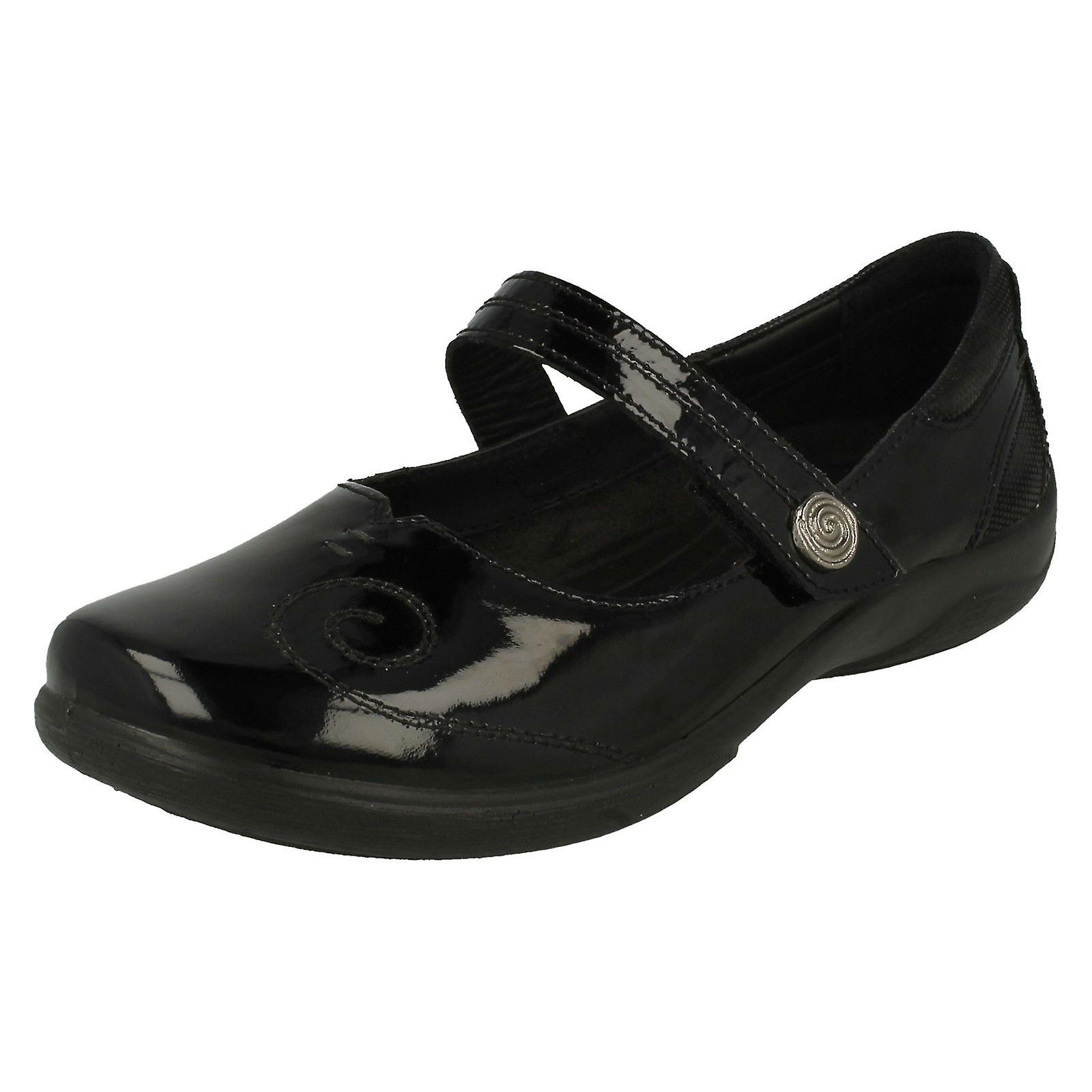 Ladies Padders Dual Fitting Mary Jane Styled Shoes Lyric zxAOT