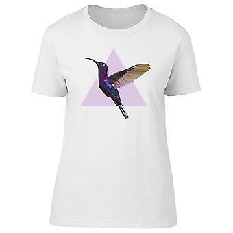 Colibri Triangle violet Tee femmes-Image de Shutterstock