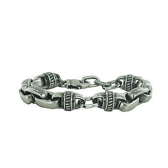 Bracelet mens police conçoit inox vintage PJ. 22257BSB/02
