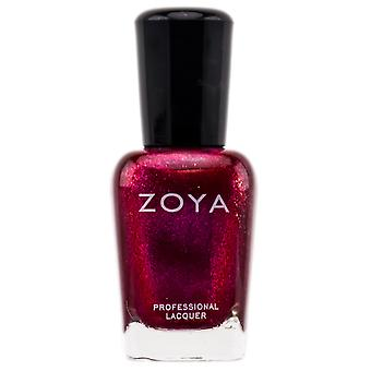 Zoya Natural Nail Polish - röd (färg: Alegra - Zp510)