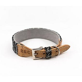 Ralph & Co Ascot Tweed/Leather Dog Collar