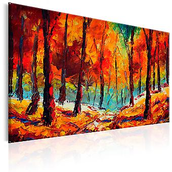 Vászon nyomtatás-művészi ősz