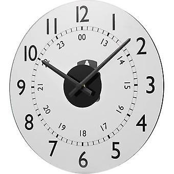 Renkforce W784P-NP Quartz Wall clock 30.5 cm x 3.5 cm White