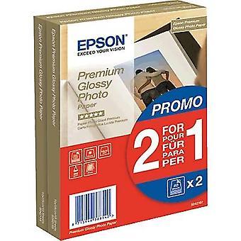 Epson Premium Błyszczący papier fotograficzny C13S042167 Papier fotograficzny 10 x 15 cm 255 gm² 80 arkusz Wysoki połysk