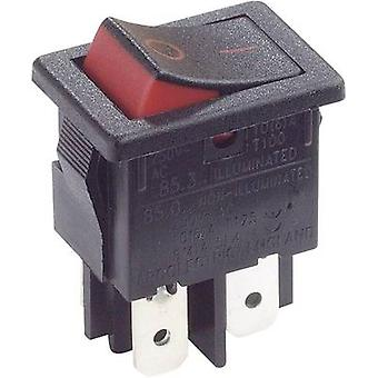 Arcolectric Toggle switch H8550XBAAA 250 V AC 10 A 2 X/Klinke 1 PC ausschalten